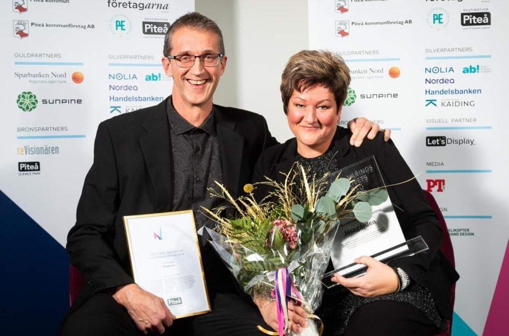 Jössgården vann årets nya innovativa besöksanledning